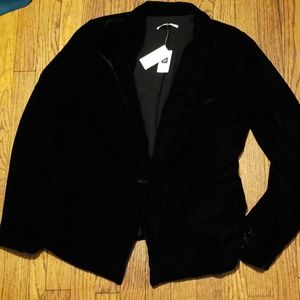 NEW WITH TAG GAP velvet jacket sz10 b4